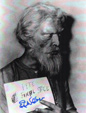 ED NELSON - DEVIL'S PARTNER MAKE-UP TEST - Autographed Photo