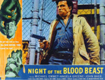 ED NELSON - NIGHT OF THE BLOOD BEAST - 8X10 Autograph