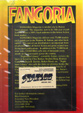 FANGORIA-STARLOG ADVERTISING PITCH PACKAGE 1997 - Large Packet