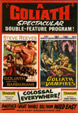 GOLIATH & THE VAMPIRES/GOLIATH & THE BARBARIANS - DVD