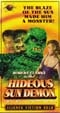HIDEOUS SUN DEMON, THE (1959) - VHS