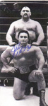 "JOHNNY DeFAZIO - 3 X 6 "" Autograped Card"