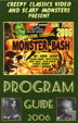 MONSTER BASH 2006 - Program Guide