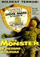 MONSTER OF PIEDRAS BLANCAS (1958) - Used DVD-R