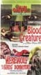 BLOOD CREATURE/WEREWOLF IN A GIRL'S DORMATORY - VHS