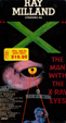 X - THE MAN WITH X-RAY EYES (1963) - Used VHS