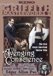 AVENGING CONSCIENCE - A Story of Edgar Allan Poe (1914) - DVD
