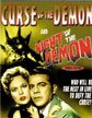 CURSE OF THE DEMON/NIGHT OF THE DEMON (1957) - DVD
