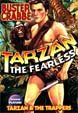 TARZAN THE FEARLESS (1933)/TARZAN AND THE TRAPPERS (1958) - DVD
