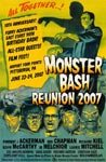 MONSTER BASH 2007 - 11X17 Poster Reproduction