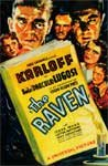 RAVEN, THE (1935/Version B) - 11X17 Poster Reproduction