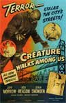 CREATURE WALKS AMONG US (1956) - 11X17 Poster Reproduction