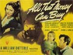 ALL THAT MONEY CAN BUY - 11X14 Lobby Card Reproduction
