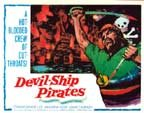 DEVIL-SHIP PIRATES (1964) - 11X14 Lobby Card Reproduction