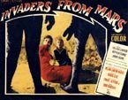 INVADERS FROM MARS (Trapped) - 11X14 Lobby Card Reproduction