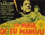MASK OF FU MANCHU (1932/Karloff/Loy) - 11X14 Lobby Card