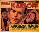 MYSTERY OF MR. WONG - 11X14 Lobby Card Reproduction