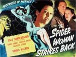 SPIDER WOMAN STRIKE BACK (1946) - 11X14 Lobby Card