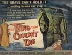 THING THAT COULDN'T DIE (1959) - 11X14 Lobby Card