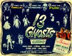 THIRTEEN GHOSTS (1960) - 11X14 Lobby Card Reproduction