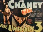 UNHOLY THREE (1930) - 11X14 Lobby Card Reproduction