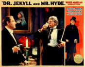 DR. JEKYLL & MR. HYDE (1932/Drinks) - 11X14 LC Reproduction