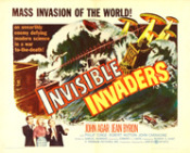 INVISIBLE INVADERS (1957) - 11X14 LC Reproduction