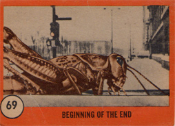 HORROR MONSTER SERIES 2 - 069 - Trading Card