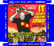 IT CAME FROM IOWA (2011) - DVD