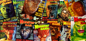 MONSTER BASH Magazine Two Page Spread - Color Ad