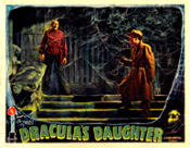 DRACULA'S DAUGHTER (1936 - Stairs) - 11X14 Lobby Card Repro