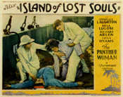 ISLAND OF LOST SOULS (1932/Dogman attacks!) - 11X14 LC Repro