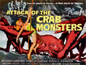 ATTACK OF THE CRAB MONSTERS (1957) - 11X14 Repro