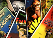 CREEPY COOL POSTER PACK - TEN 11X17 Poster Reproductions