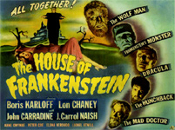 HOUSE OF FRANKENSTEIN (1944/TC) - 11X14 LC Reproduction