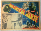 INVADERS FROM MARS (1953) - Original Mexican Lobby Card