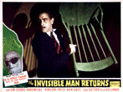 INVISIBLE MAN RETURNS - 11X14 Lobby Card Reproduction