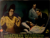 DRACULA'S DAUGHTER (1936 - Gloria Pose) - 11X14 Lobby Card Repro