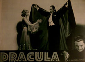 DRACULA (1931/Re-Issue/Helen Cape) - 11X14 Lobby Card Repro