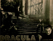 DRACULA (1931/Re-Issue/Stairs) - 11X14 Lobby Card Reproduction