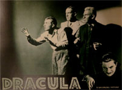 DRACULA (1931/Re-Issue/Trio) - 11X14 Lobby Card Reproduction