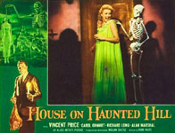 HOUSE ON HAUNTED HILL (1959/Skelly) - 11X14 LC Reproduction