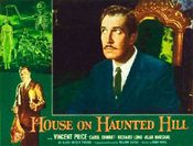 HOUSE ON HAUNTED HILL (1959/Pensive Price) - 11X14 Reproduction