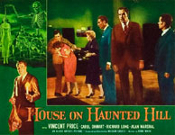 HOUSE ON HAUNTED HILL (1959/Cast) - 11X14 LC Reproduction