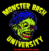 MONSTER BASH UNIVERSITY - SHOCK MONSTER - T-Shirt