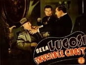 INVISIBLE GHOST (Bela Attacks Cop) - 11X14 Lobby Card Repro