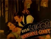 INVISIBLE GHOST (Bela Strangles Girl) - 11X14 Lobby Card Repro