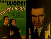 INVISIBLE GHOST (Title Card) - 11X14 Lobby Card Reproduction