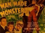 MAN MADE MONSTER (1942/Title) - 11X14 Lobby Card Reproduction