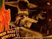 MAN MADE MONSTER (1942/Table) - 11X14 LC Reproduction